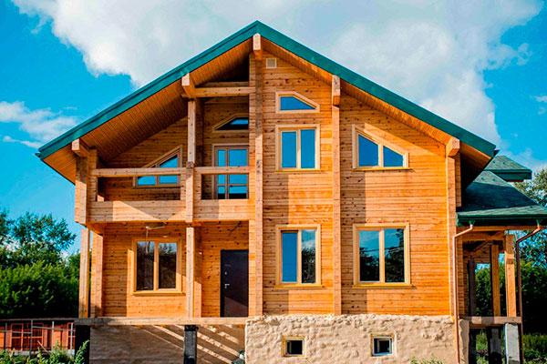 Строительство домов из деревянного бруса