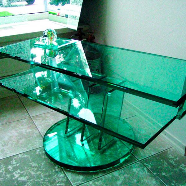 Мебель из триплекс стекла